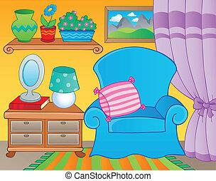 2, imagen, tema, habitación, muebles