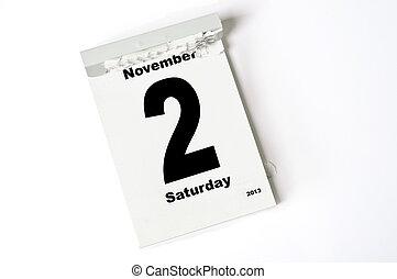 2. Noviembre de 2013
