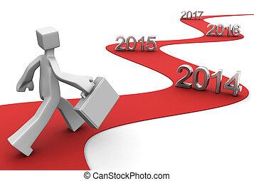 2014, negocio a término brillante, éxito
