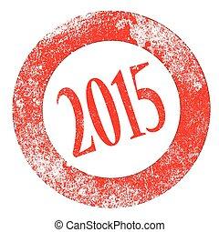2015 sello de goma