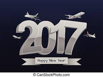 2017, avión