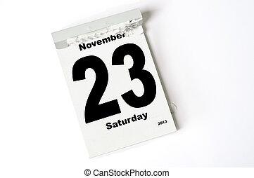23. Noviembre de 2013