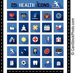 25 íconos de salud