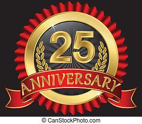 25 años de oro