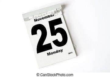 25. Noviembre de 2013