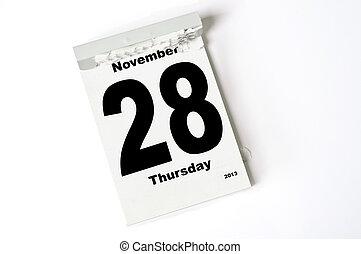 28. Noviembre de 2013