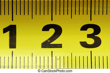 3, centímetros