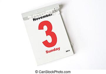 3. Noviembre de 2013