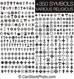 350 símbolos religiosos