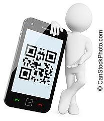 3D, códigos QR móvil