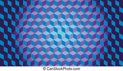 3D cubitos de ilusión