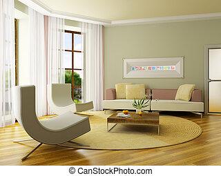 3D de interiores
