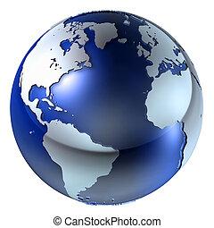 3D estructura terrestre