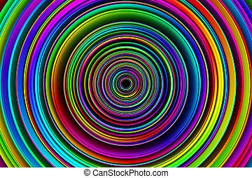 3D fondo abstracto