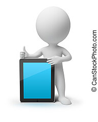 3D gente pequeña - iPad