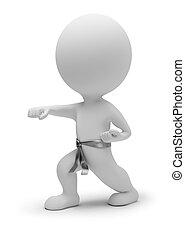 3d gente pequeña - karate