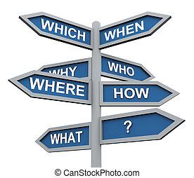 3d preguntas de dirección