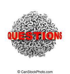 3D preguntas palabra esfera
