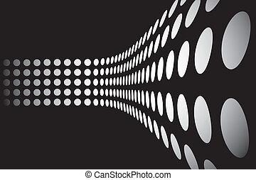 3D puntos de pared