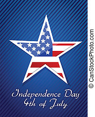 4 de julio, concepto de independencia americana