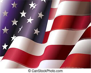 """4 de julio: """"Día de independencia de los Estados Unidos de América"""". Poster para diseñadores gráficos"""
