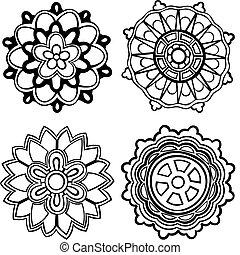 4 medallones
