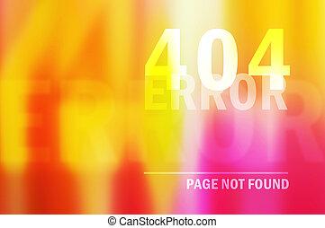 404 página de error no encontrada