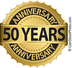 50 años de etiqueta dorada