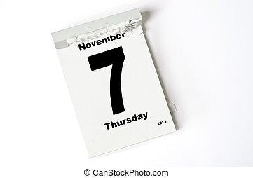 7. Noviembre de 2013