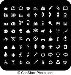 72 iconos
