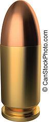 9 mm, bala