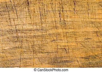 Añejado fondo de madera con línea cortada