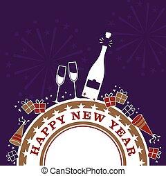 año nuevo, celebración