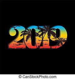 año, nuevo, diseño, número, gráfico, 3d, vector, bandera, brillante, decoration., aislado, navidad, ilustración, gradiente, saludo, negro, card., feliz, fondo., texto, 2019, textura, feriado, celebración, arco irirs