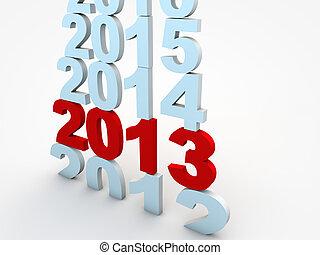 Año Nuevo en 2013