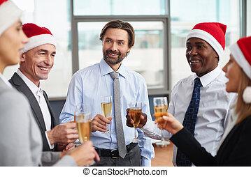 Año nuevo en la oficina