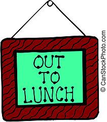 A almorzar