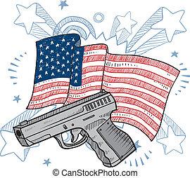 A América le encantan los bocetos de armas