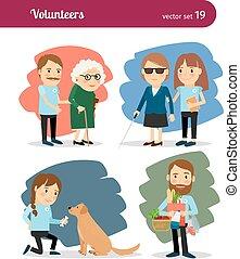 A los voluntarios les importa
