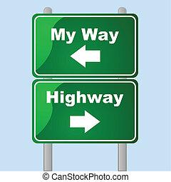 A mi manera o a la carretera