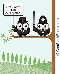 Abajo el gobierno