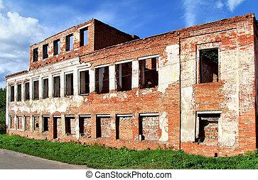 abandonado, edificio