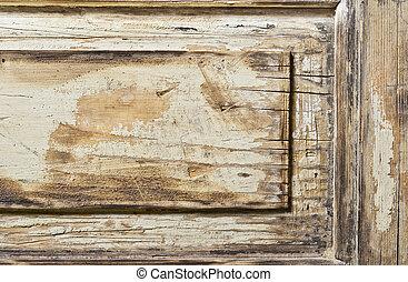 Abandonaron la textura de madera