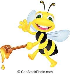 abeja miel