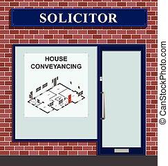 abogado, conveyancing, casa