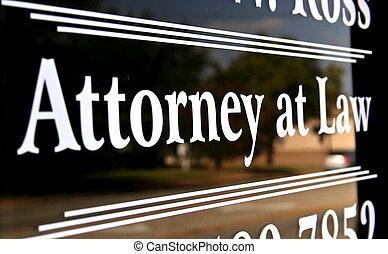 abogado, ley