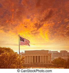 Abraham Lincoln Memorial Edificio Washington DC