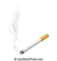 abrasador, realista, cigarrillo