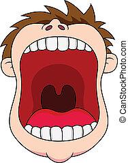 Abre la boca
