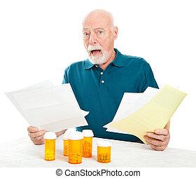 Abrumado por los costos médicos